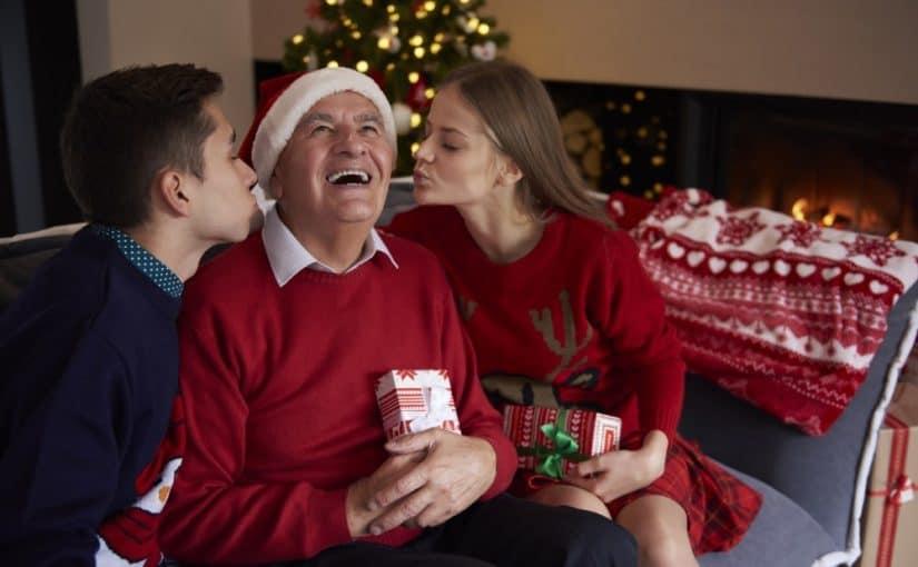 Far der får en julegave